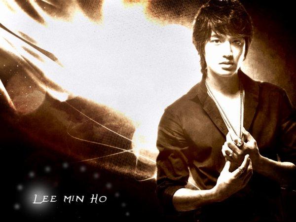 Fond d'écran Lee Min Ho