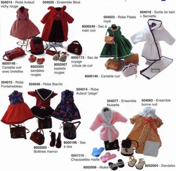 Les vêtements de Modes et Travaux