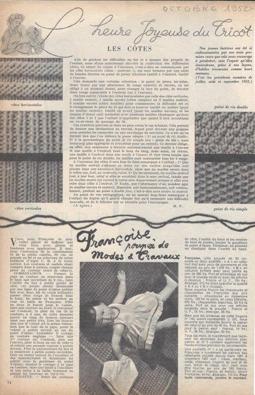 Octobre 1952
