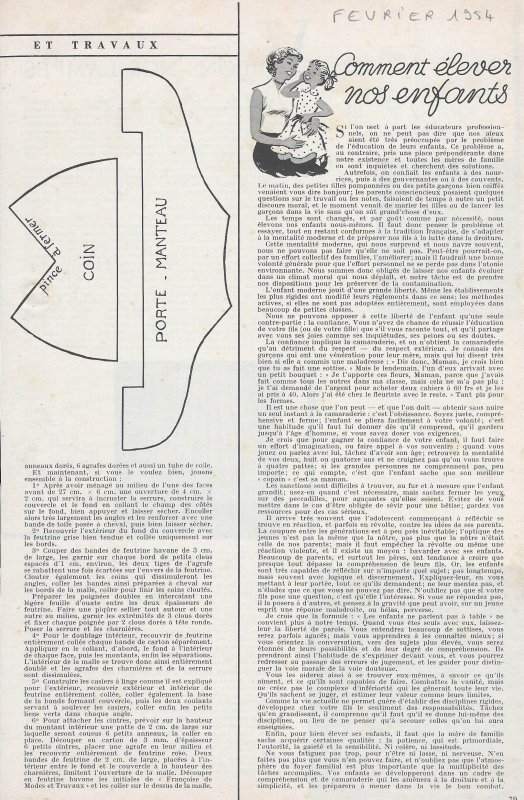 février 1954 - la malle de Françoise  (1)