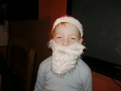 Arnaud en père Noël