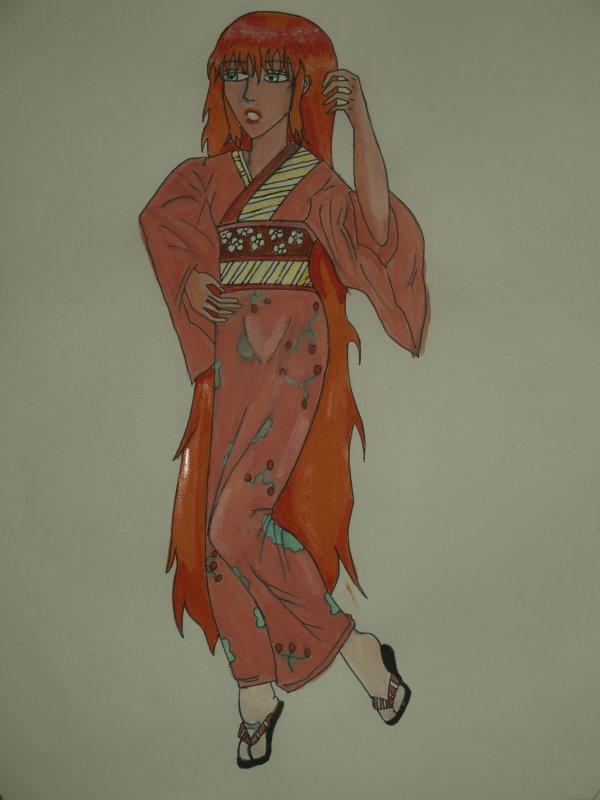kimono bulls acrylique