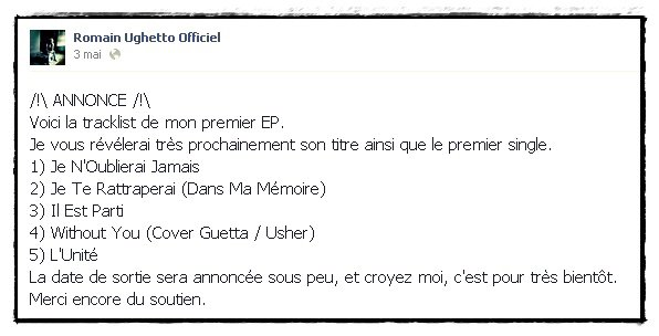EP + ANNONCE