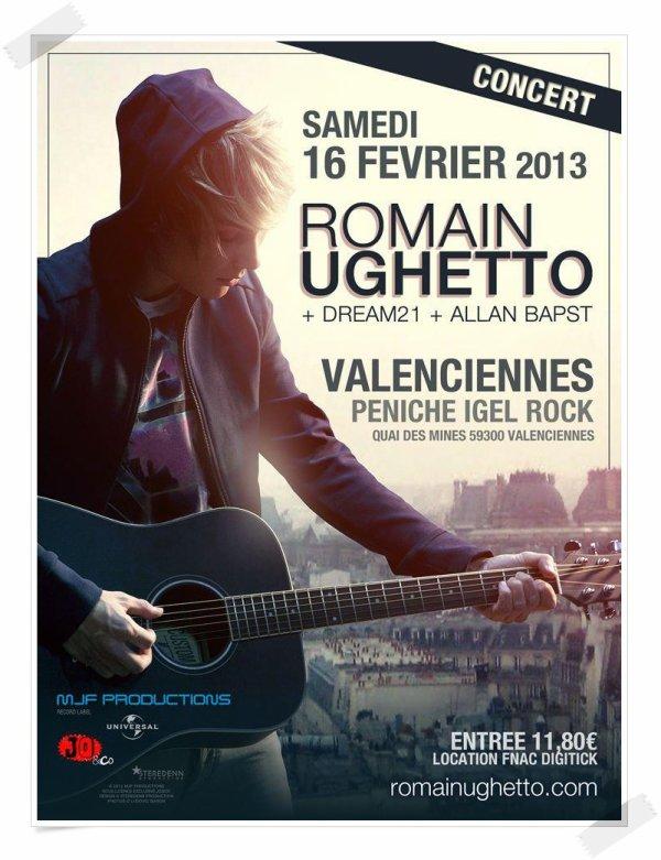 We love music + nouvelle date de concert