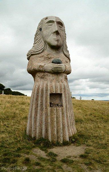 La vallée des saints à Carnoët (22)