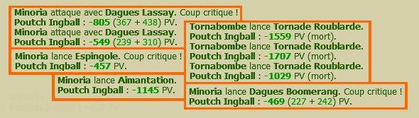 Une petite partie de Poutch Ingball !