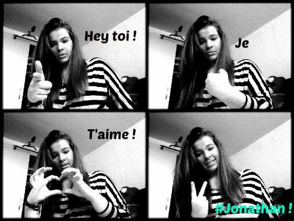 Hey toi ! je t'aime <3