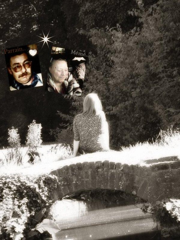Mémé & Parrain deux anges de plus aux ciel <3.