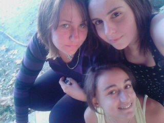 Julie , Lory , Moi (l)