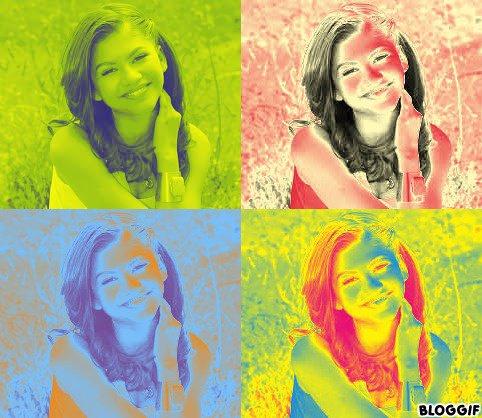 Zendaya pop art