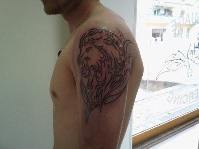 mon 2éme tatouage en 2 parties