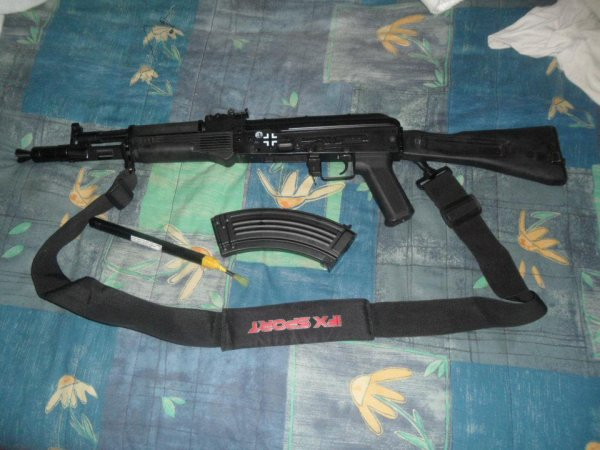 ma replique d'airsoft