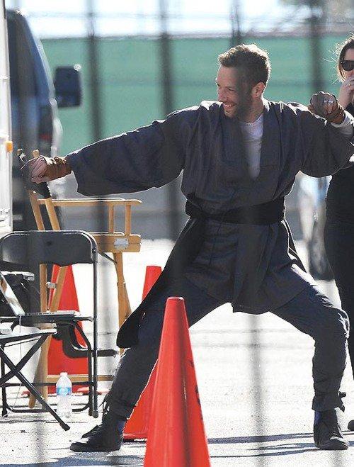 """Sur le tournage du clip de """"Princess of China"""""""