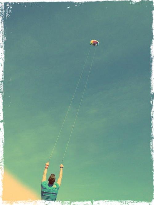 Cerf-volant avec Chris