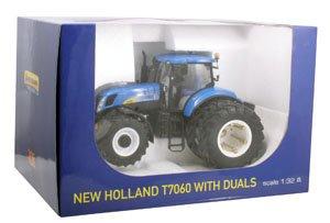MINA AGRI  1/32 NEW HOLLAND T _ 7060 jumelées