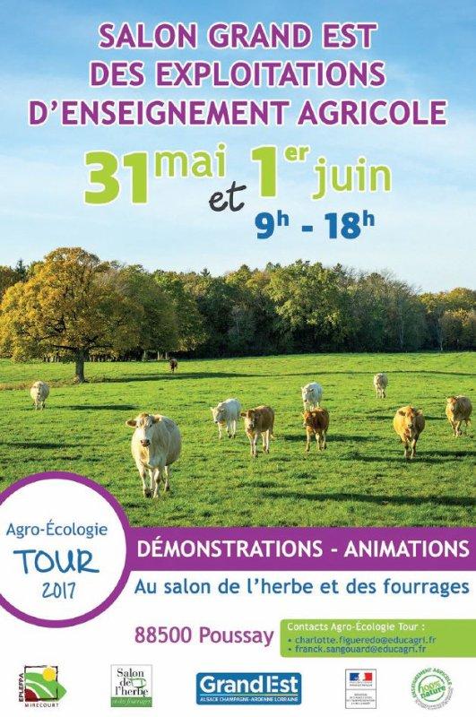 31/05 au 01/06/17 - Salon de l'herbe à Poussay (88)