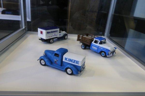 Visite de l'usine de semoirs , transbordeur  KINZE