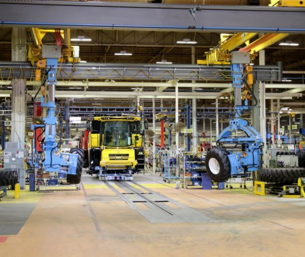 visite de l'usine CNH à GRAND ISLAND