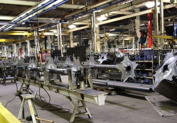 Voyage USA 2017 : visite de l'usine CNH à GRAND ISLAND :Barres de coupe