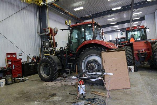 Voyage USA 2017 : visite d'une concession CASE Titan Machinery