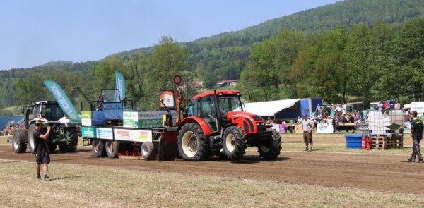 Tracteur Pulling Develier 2018