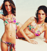 Alessandra Ambrosio pour les maillots Victoria's Secret.