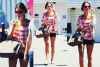 Rattrapage de news : Alessandra et son mari Jamie Mazur se promenant fin juillet.