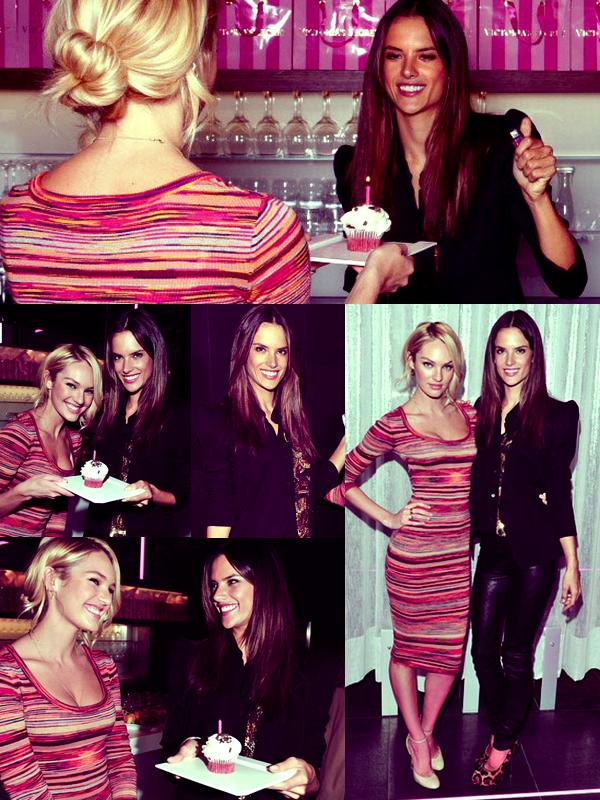 Le 20 Octobre, Alessandra et Candice étaient à un brunch à l'Hotel Le Germain, à Toronto,  Alessandra avait apporté un cupcake pour les 23 ans de Candice. TOP?