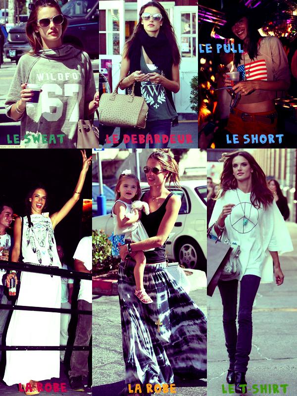 Alessandra adore la marque Wildfox
