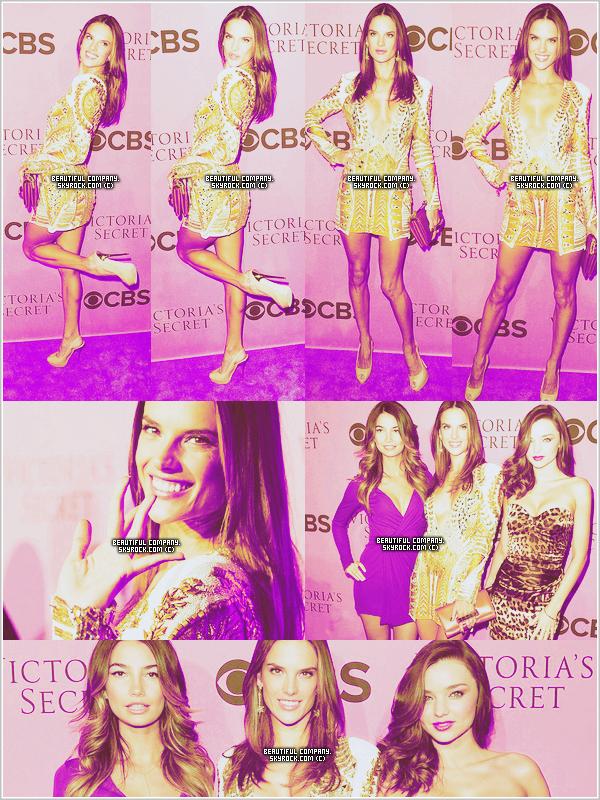28 novembre 2011 : Alessandra, Lily & Miranda à l'avant première du VS show !