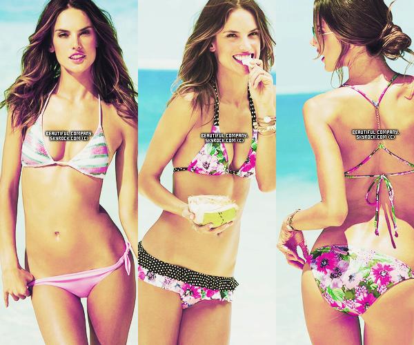 Voici de nouvelles photos d'Alessandra pour Victoria's Secret + Vidéo lors du show.