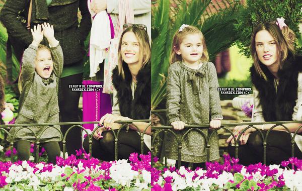 09 décembre 2011 : Anja & Alessandra à Los Angeles