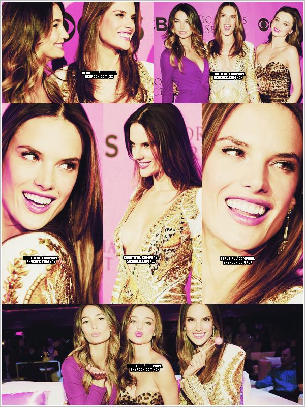 De nouvelles photos d'Alessandra, Miranda & Lily lors de l'avant première du VS Show.