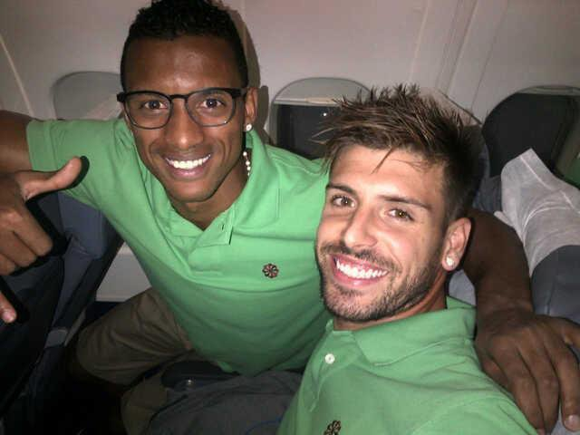 Nani & Miguel Veloso ♥