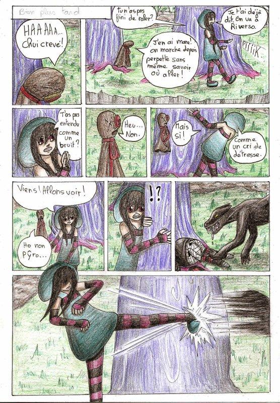 pyro: quand soufle le vent de la trahison, chapitre 2