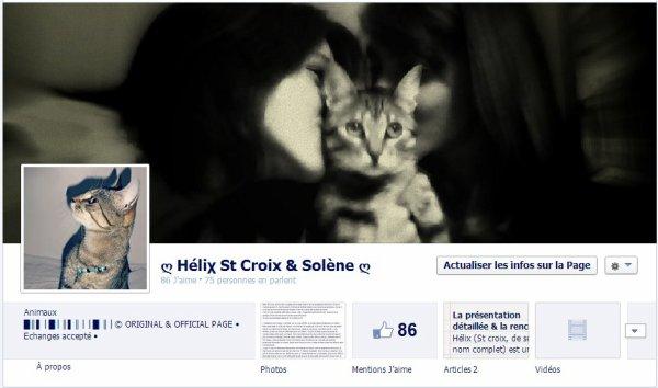 Notre page FACEBOOK...