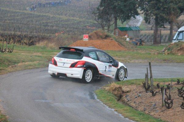 Rallye Vignes de Régnié 2015