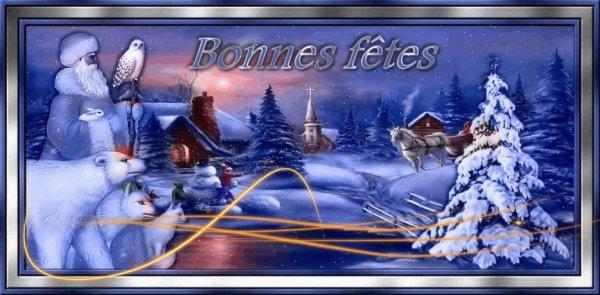 ♥(l)(l)(l) Cadeau pour danydan2010, Joyeuses fêtes de fin d'année, Avec toute mon amitié, bisous de marie (l)