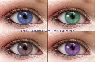 Tuto n° 5 ; Comment changé la couleur des yeux ?
