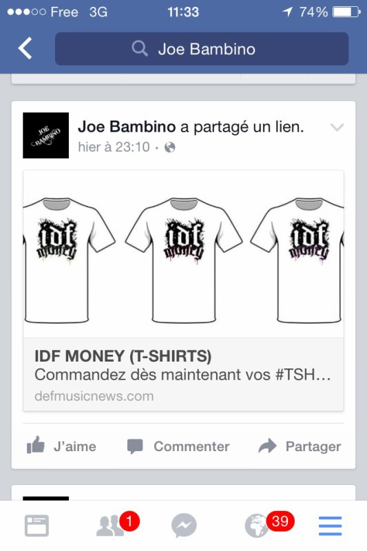 IDF MONEY T-shirts