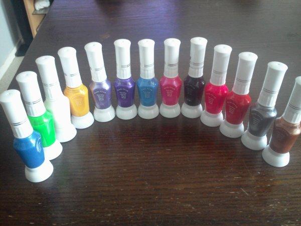 Mes Gels UV de couleur