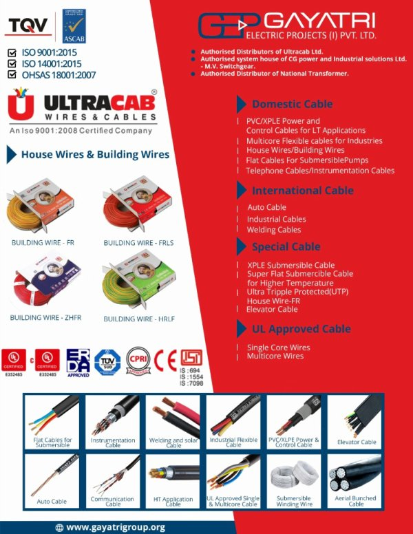 Cable and Wires Manufacturer in Ahmedabad, Cable and Wires Distributors in Ahmedabad