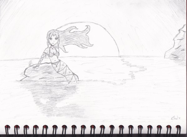 Quelques dessins que j'ai fais cet été...