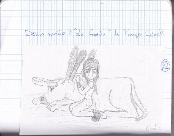 "Avec Francis Cabrel, ""La Corrida""..."