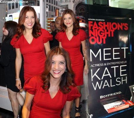 Kate Walsh le 8 septembre