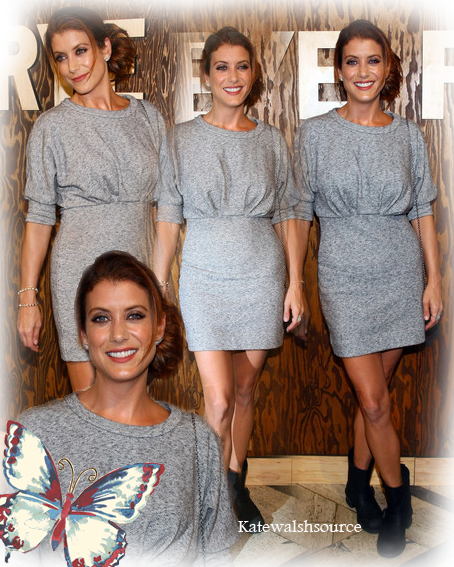 Kate Walsh à l'inauguration du Frye company flaghship à New York le 9 septembre