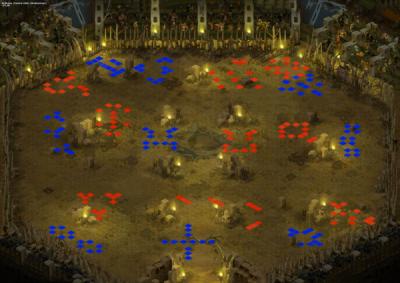 Map arene