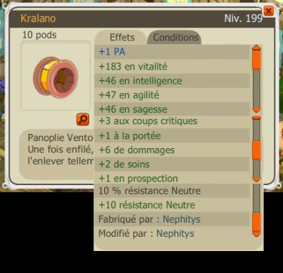 Kralano PA / 412M en poche