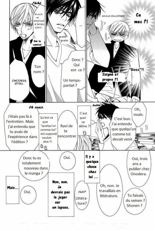 Sekaiichi Hatsukoi chapitre 1 (partie 2)