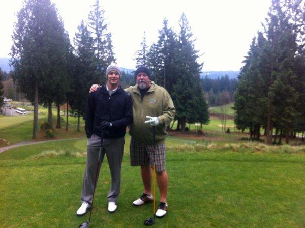 Jensen & Clif au golf ( 15-12-2011)